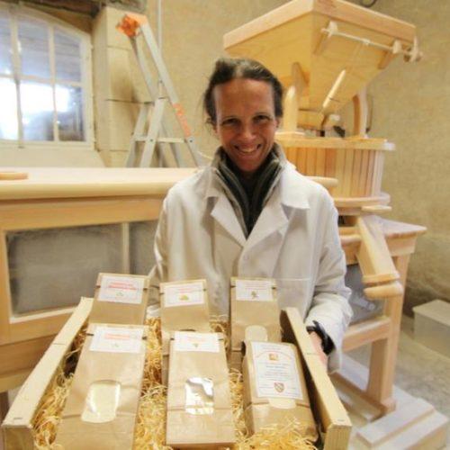 production de farine Mirebeau